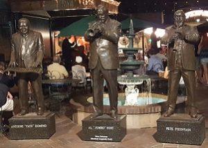 Jazz Musician Statues